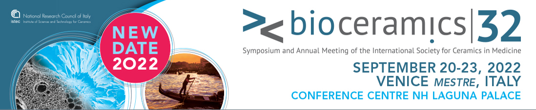 International Conference Bioceramics32 - Venice, Mestre (Italy)